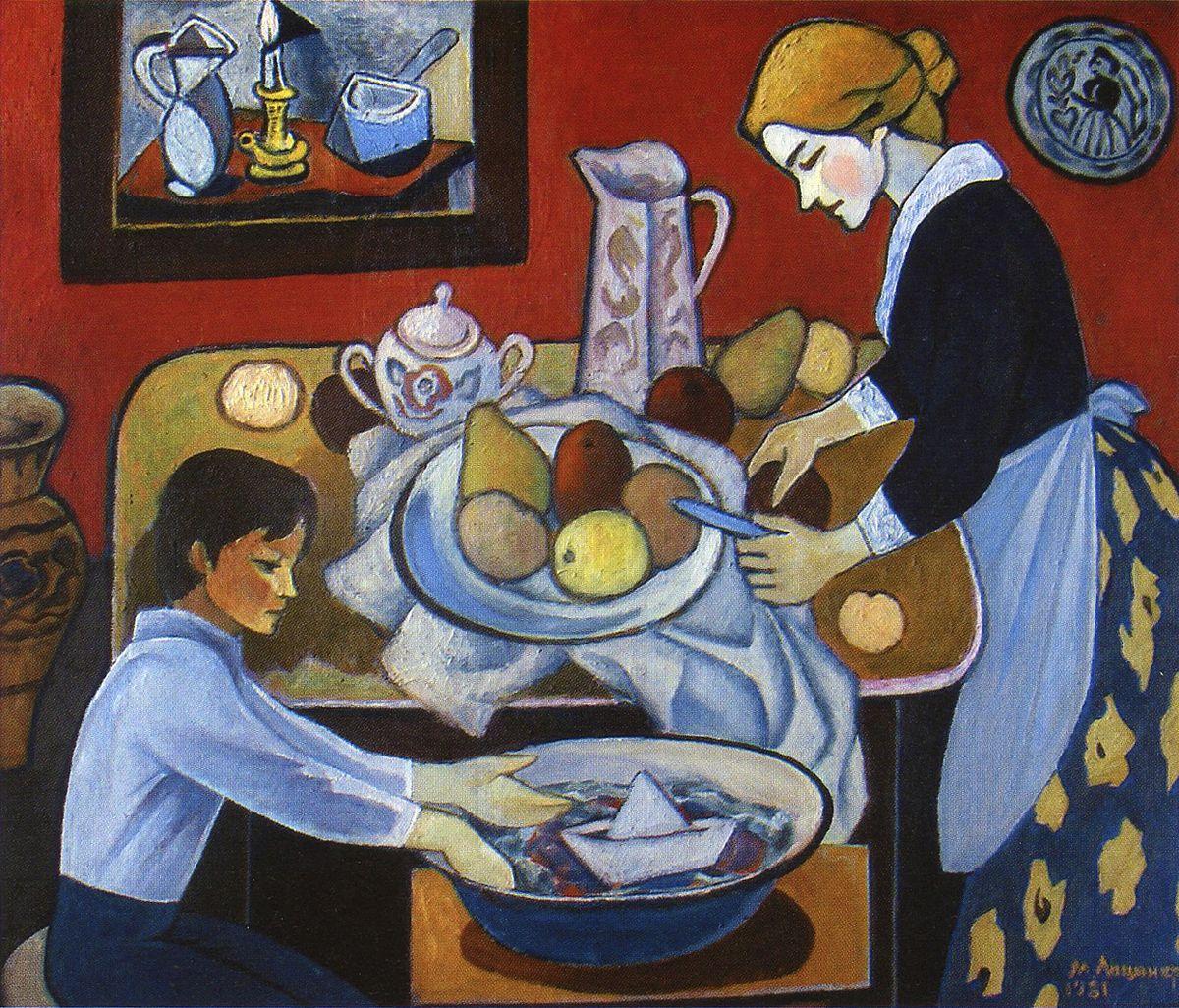 Михайло Ліщинер. Десерт, 1981