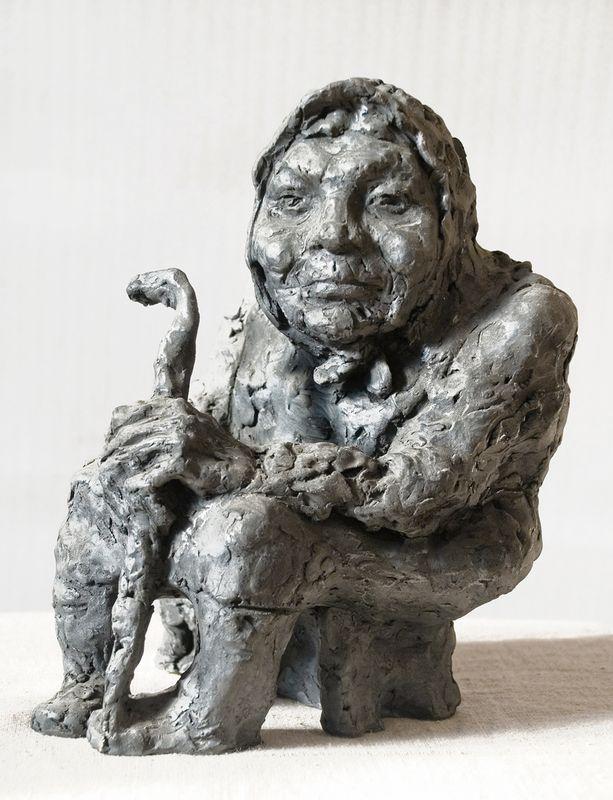 Ярослав Мотика. Дружина гончара 1979 випал глина