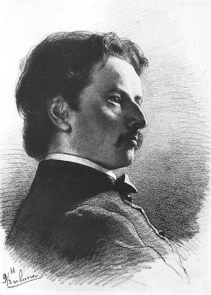Артур Ґроттґер. Художник Францішек Тепа, 1866