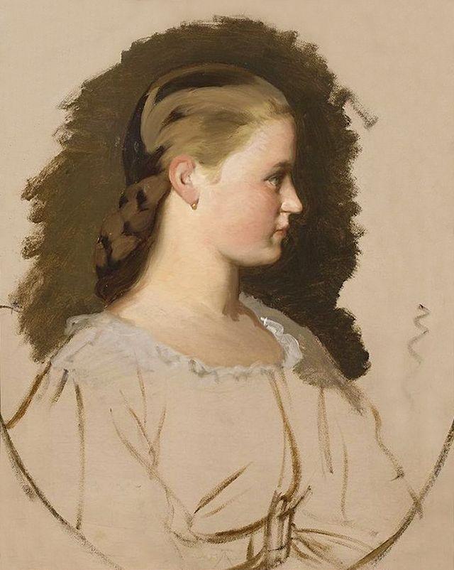 Артур Ґроттґер. Клементіна Дідушицька, 1865. Полотно, олія, NMW