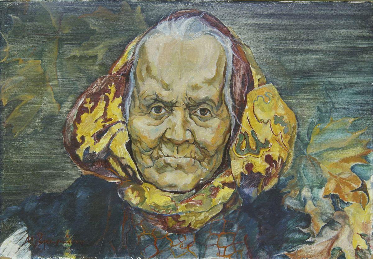 Микола Грималюк. Баба Євдокія, 1981