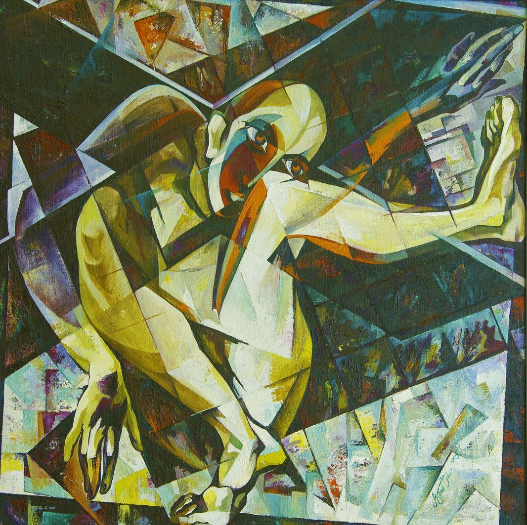Микола Грималюк. У квадраті, 1995