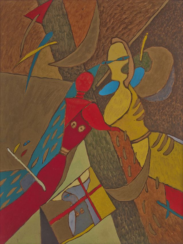 Петро Гулин. Грішний трикутник, 1988