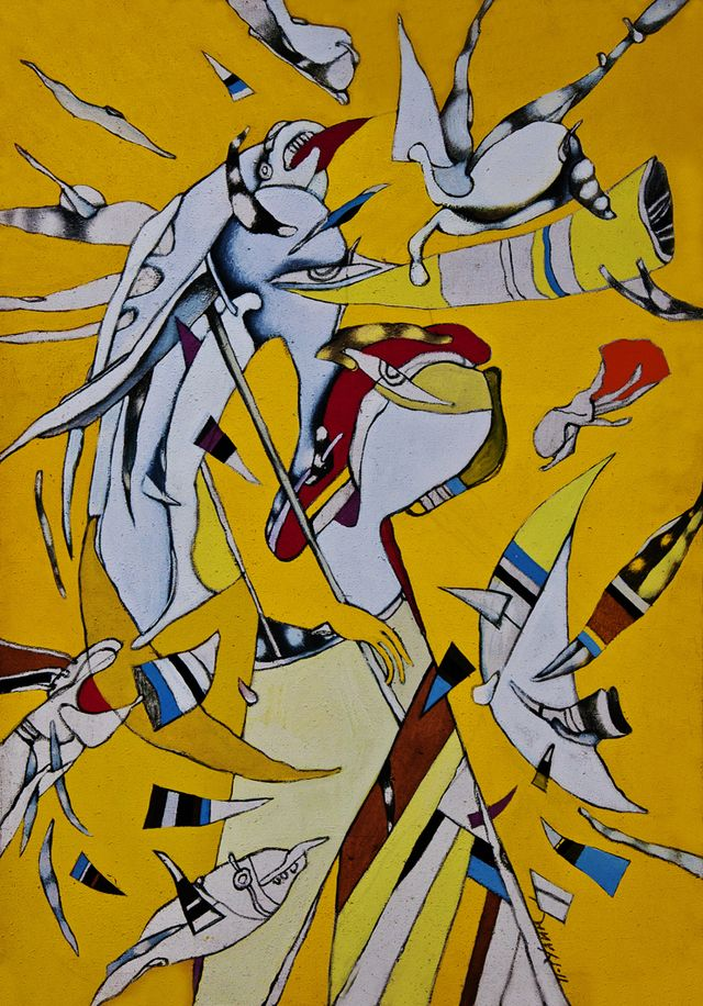 Петро Гулин. Полудневі подорожі, 1988