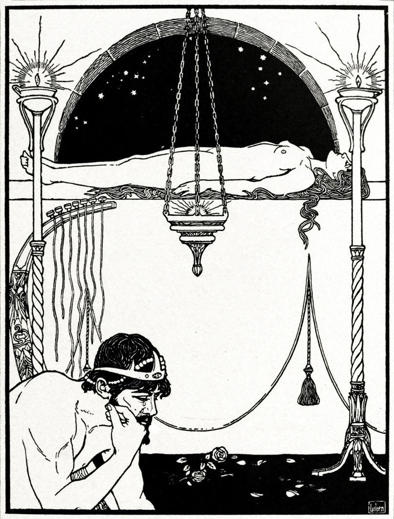 Ефраїм Моше Лілієн. Пісня суму. Юда, 1901