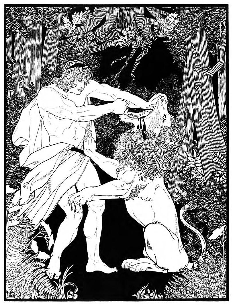 Ефраїм Моше Лілієн. Самсон. Юда, 1901