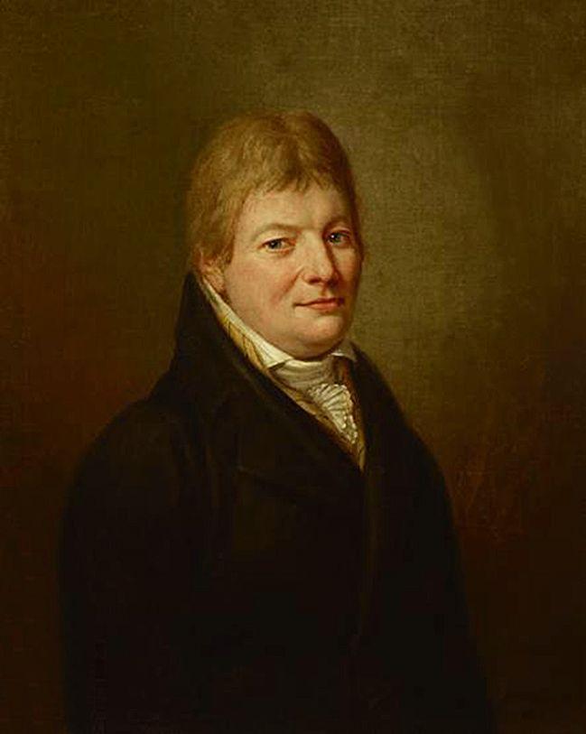 Карл Готлиб Швайкарт. Портрет чоловіка, 1812. NMK