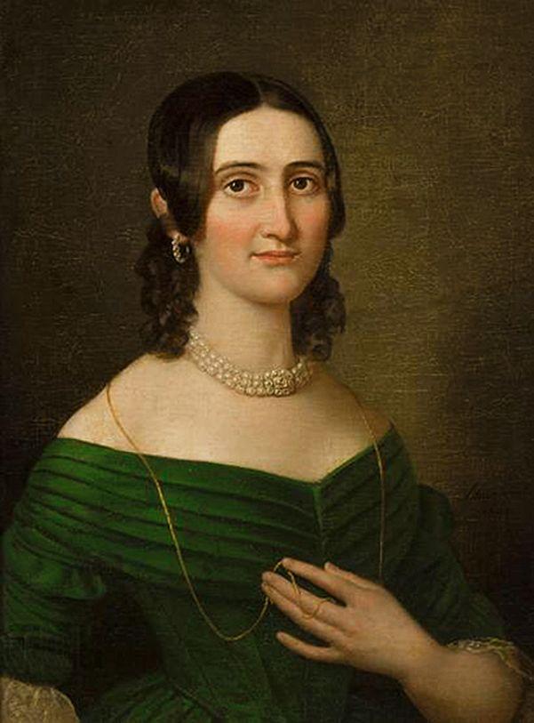 Карл Готлиб Швайкарт. Портрет жінки, 1842. NMК