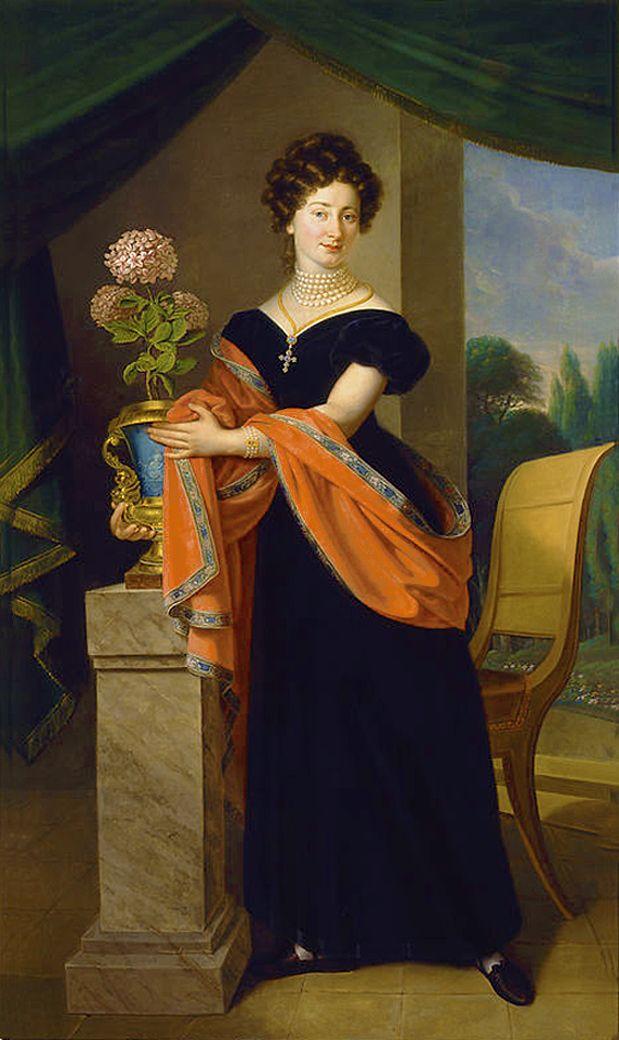 Карл Готлиб Швайкарт. Софія Фредро Яблоновська, 1824. NMW