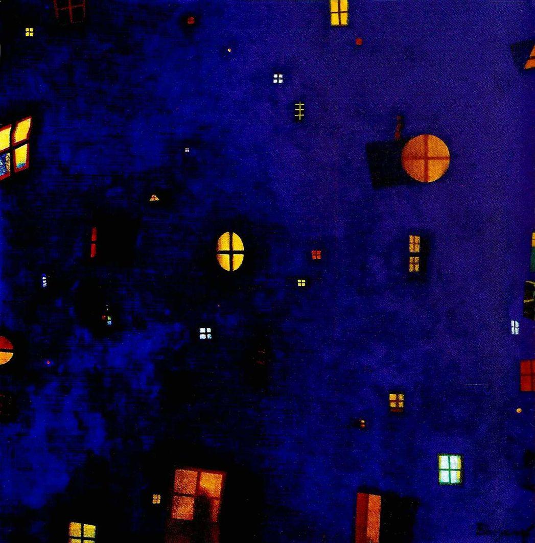 Володимир Богуславський. Вікна, 2004, п,о, 80-80