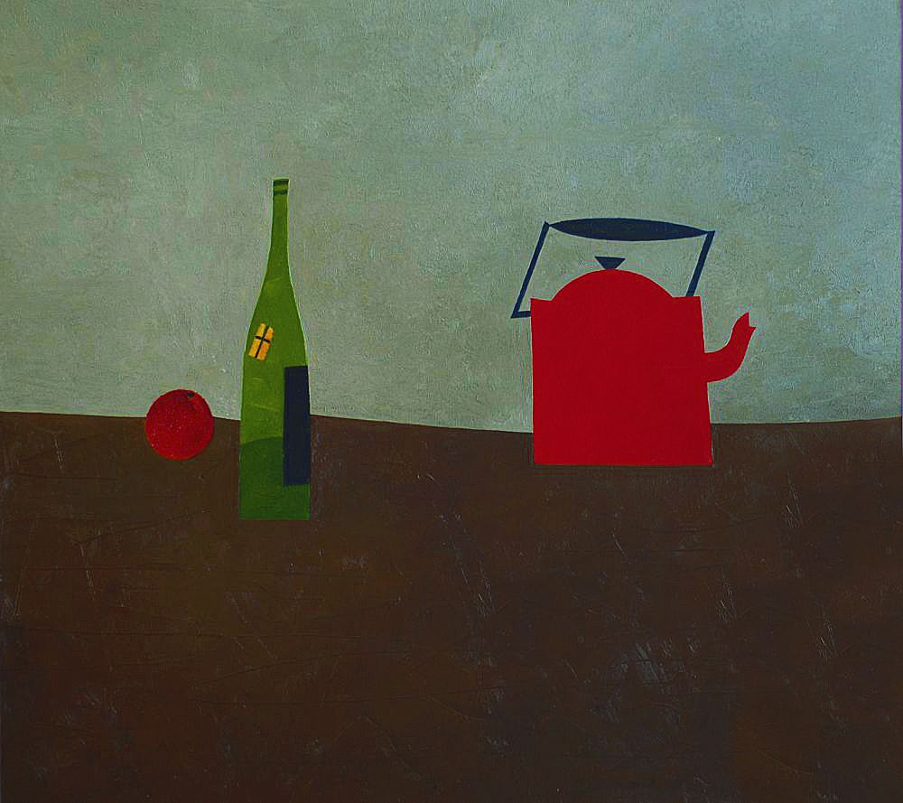 Володимир Богуславський. Зелена пляшка, 2008, 90-100