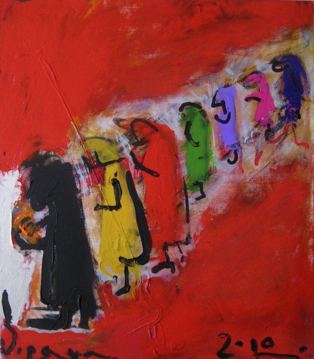 Зоряна Гарбар. До сповіді, 2010; п,акр; 80-70