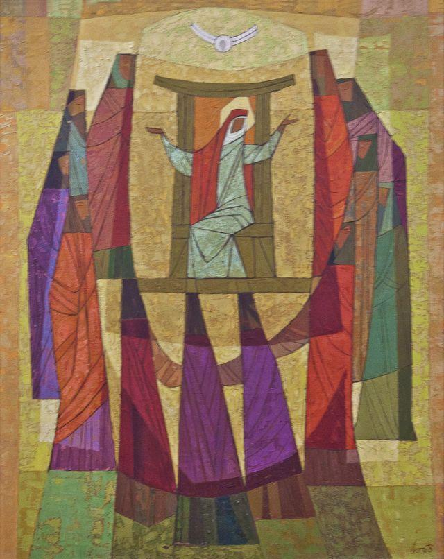 Мирон Левицький. Зіслання Святого Духа, 1968