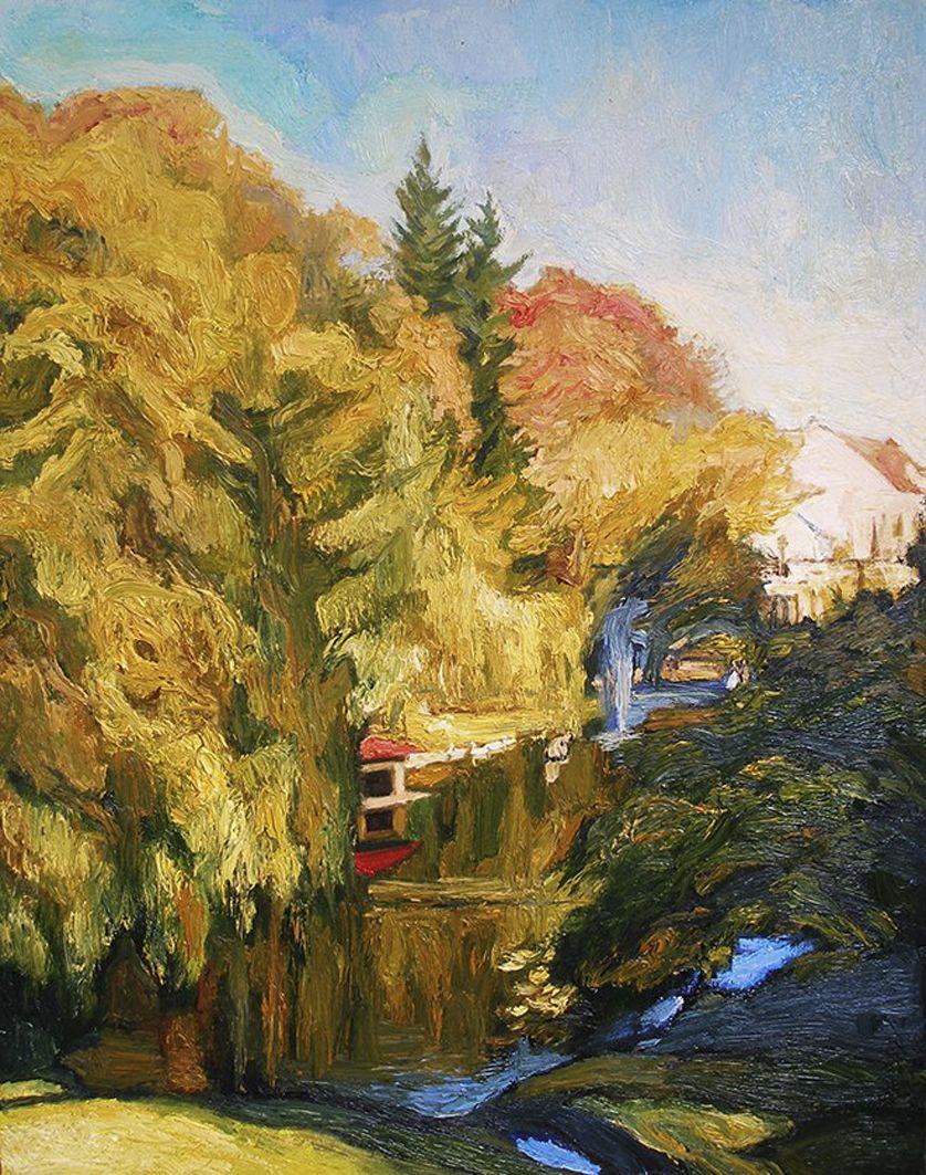 Олена Каменецька-Остапчук. Лебедине озеро, 2014