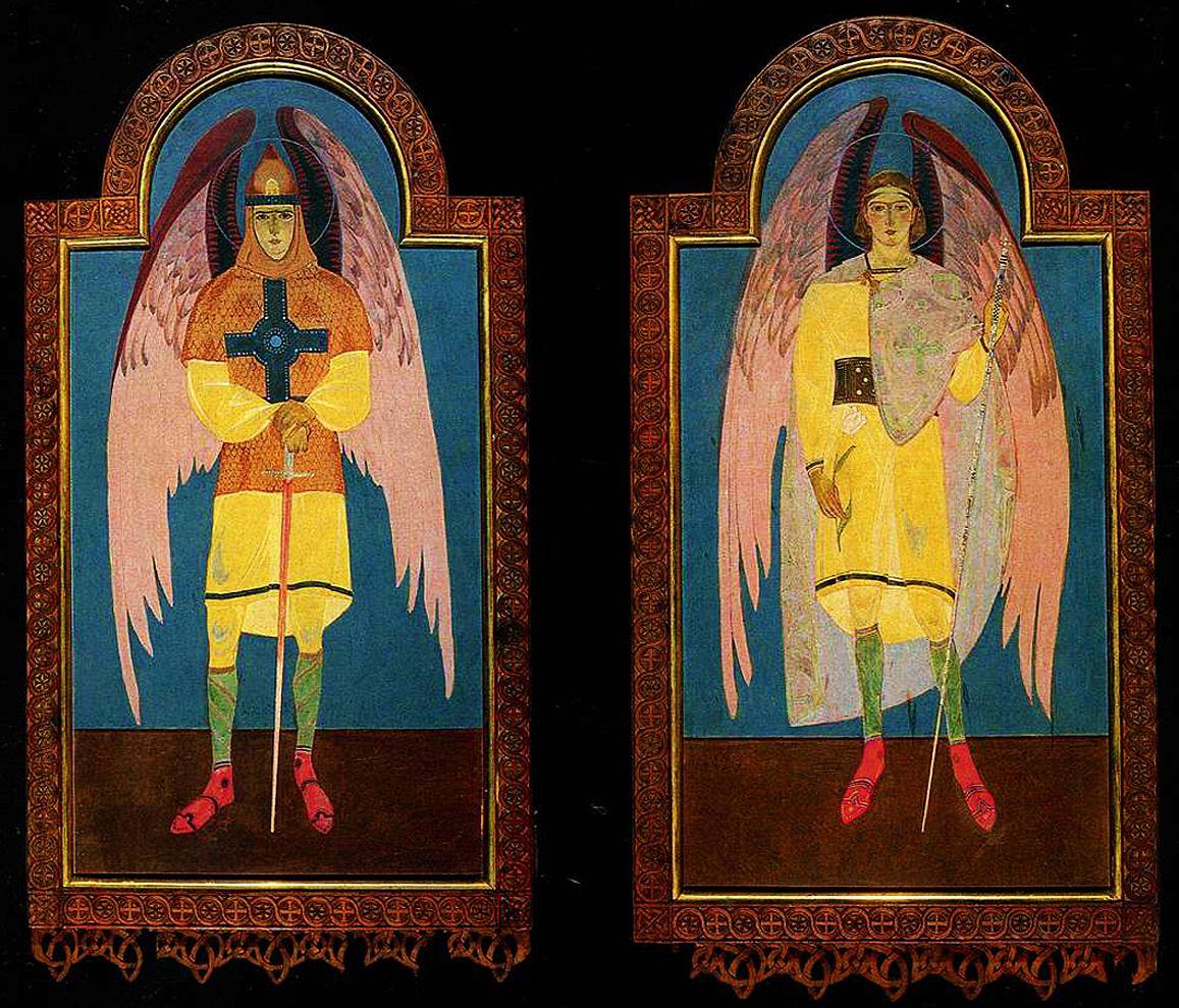Петро Холодний. Двері іконостасу каплиці св Духа, 1920-і