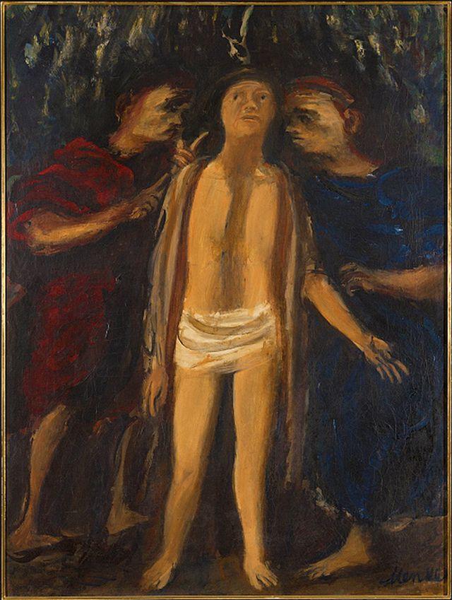 Зигмунт Менкес. Ecce Homo, 1928, NMW