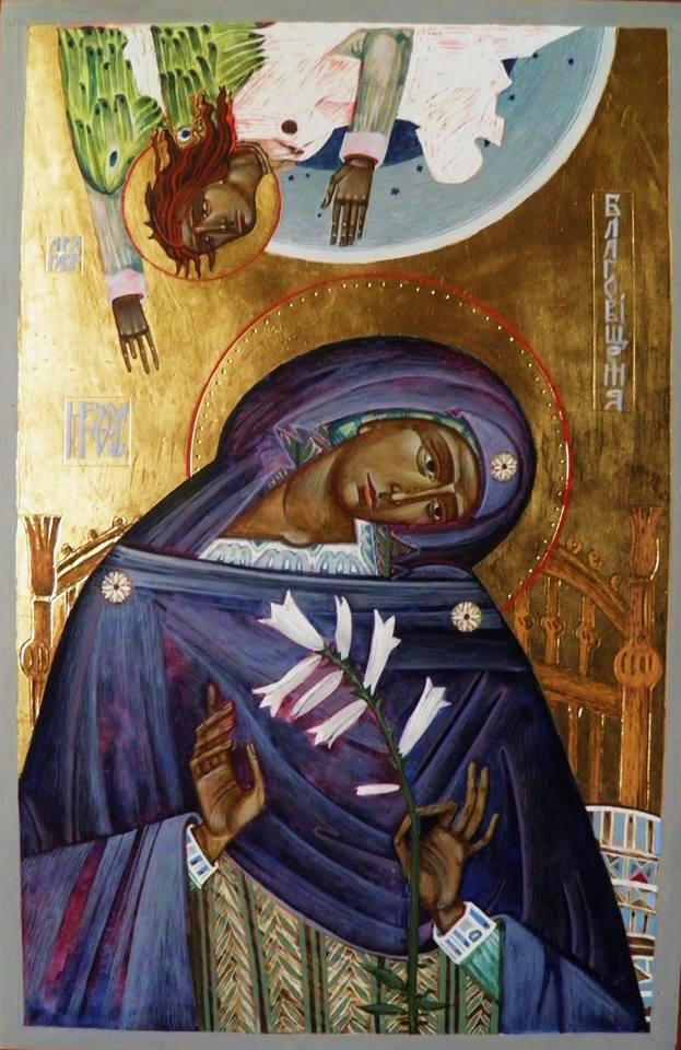 Уляна Томкевич. Благовіщення, 2015