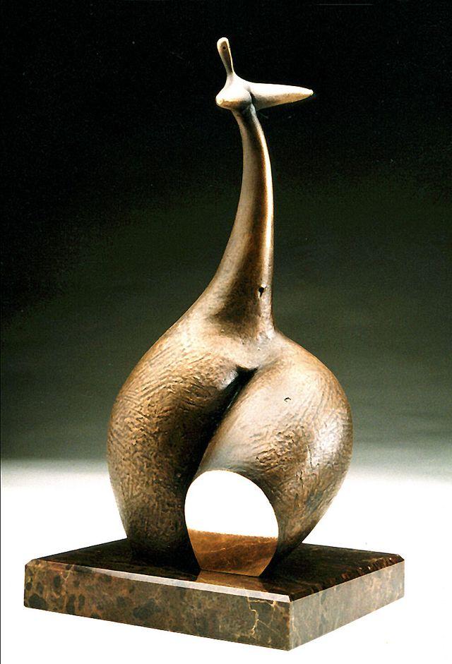 Михайло Вертуозов. Асса, 1998; бронза, мармур