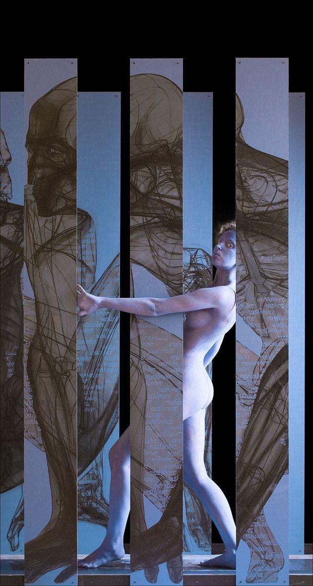 Микола Молчан. Auslander, 2003, інсталяція