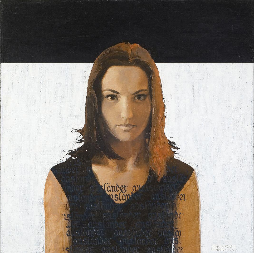 Микола Молчан. Олександра, 2002, п,о