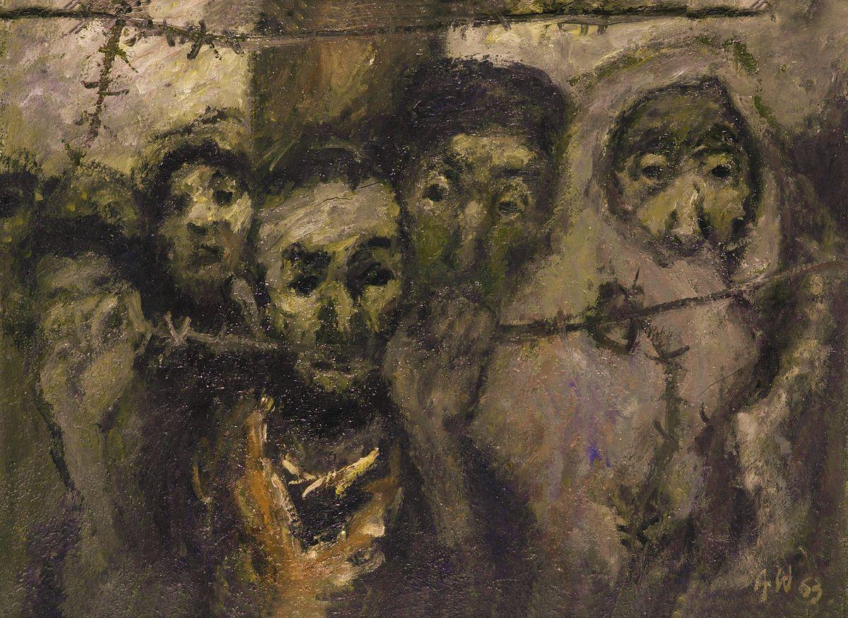 Олександр Винницький. Ніколи більше, 1963, х,м