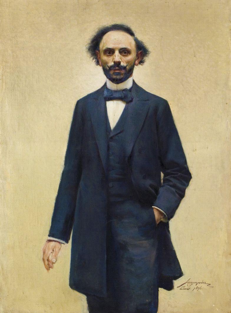 Олександр Авґустинович. Автопортрет, 1896