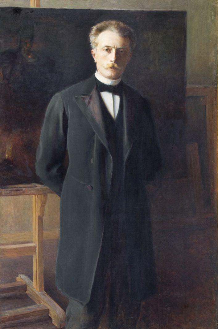 Олександр Авґустинович. Автопортрет, 1899