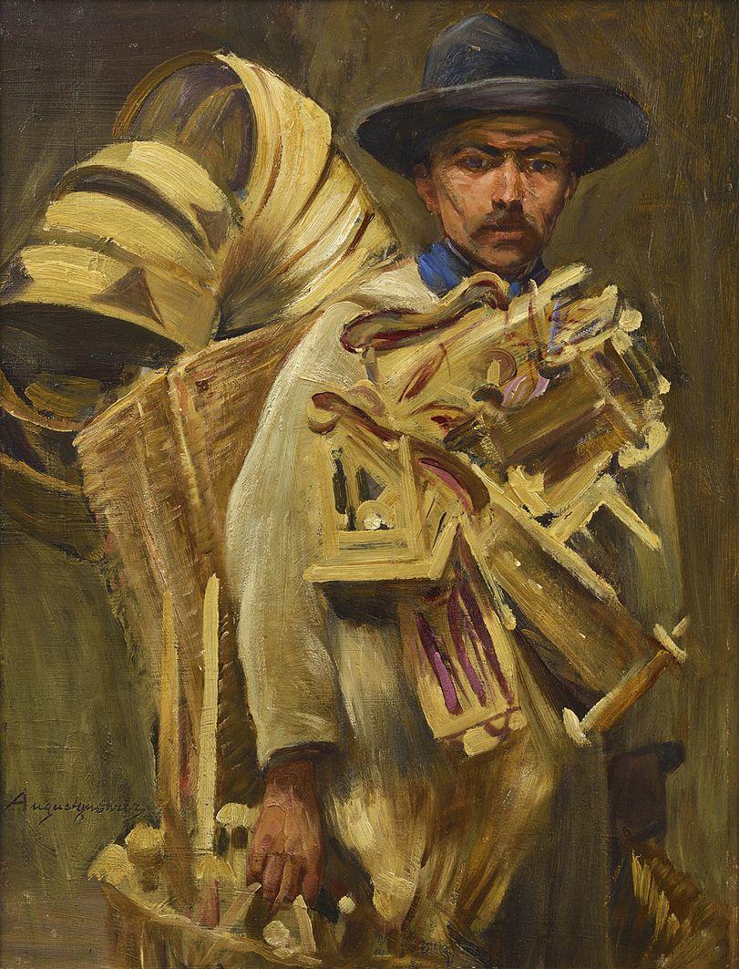 Олександр Авґустинович. На ринку, 1910