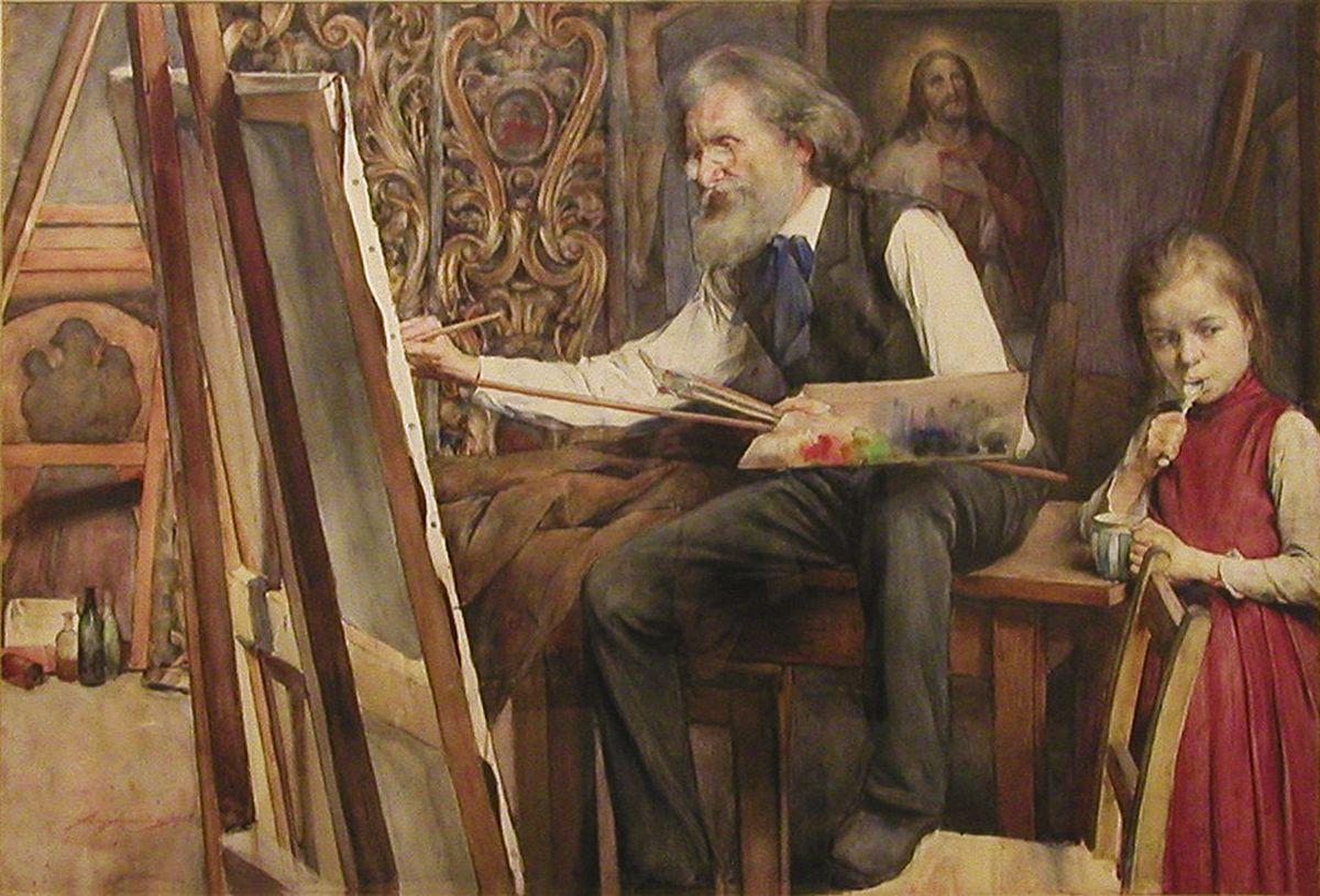 Олександр Авґустинович. Северин Обст, 1906, NMWr