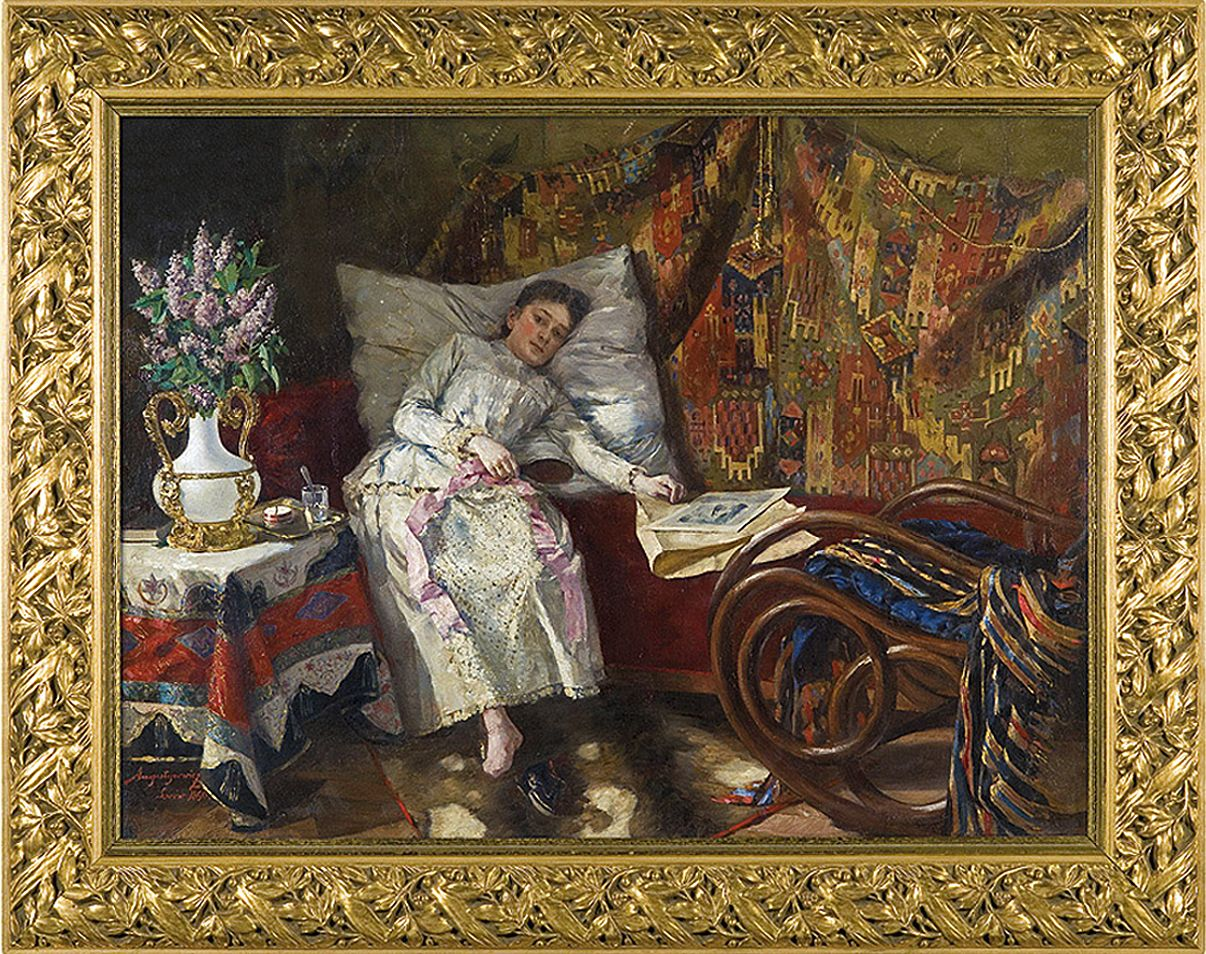 Олександр Авґустинович. Відпочинок, 1890