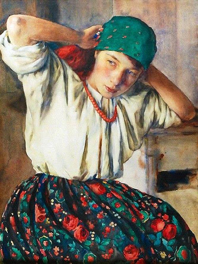 Олександр Авґустинович. Жіночий портрет, 1938