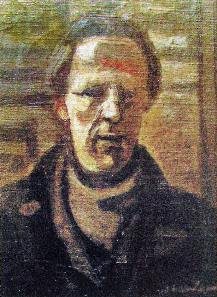 Альфред Абердам. Автопортрет, 1935