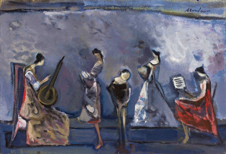 Альфред Абердам. Концерт, 1930-ті; MNW
