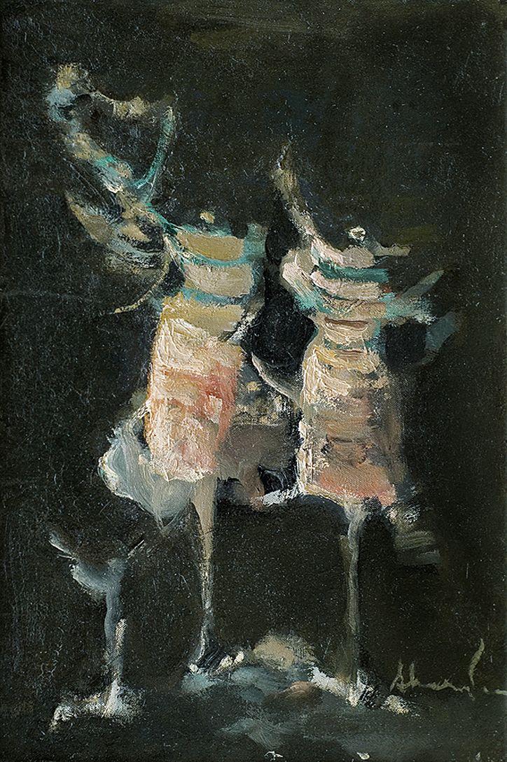 Альфред Абердам. Танцівниці, 1962