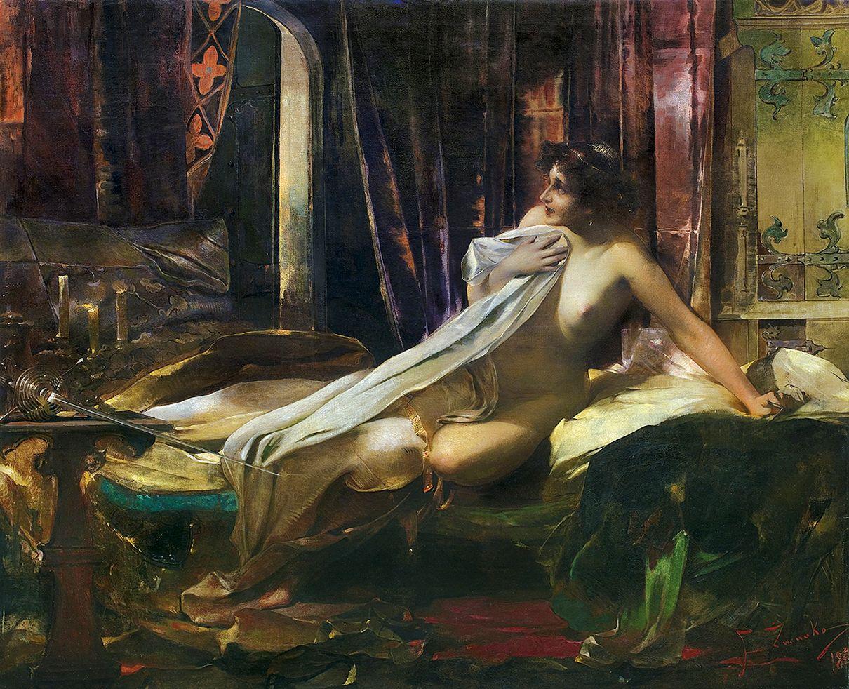 Францішек Жмурко. Право першої ночі, 1892