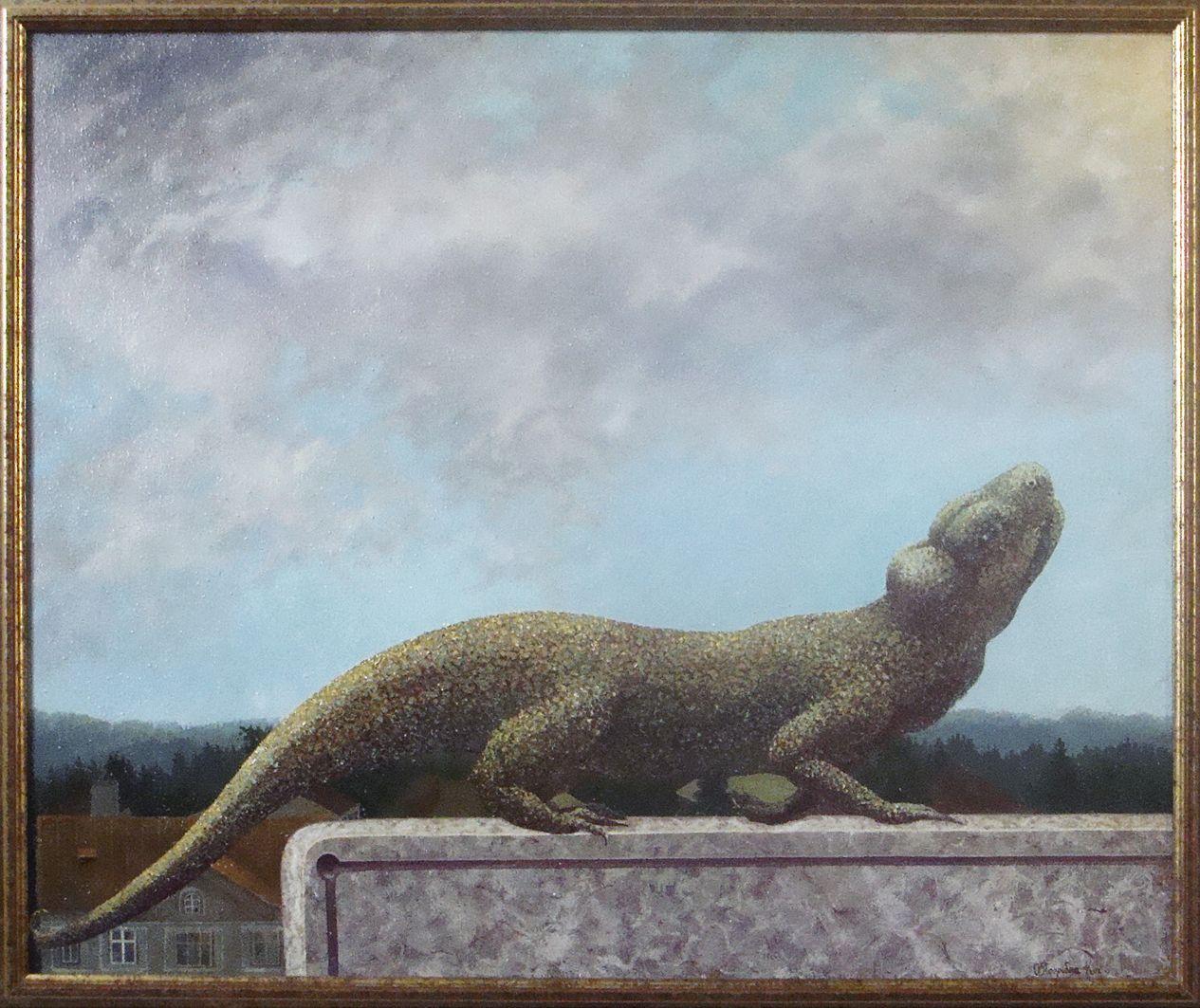 Ольга Погрібна-Кох. На балконі, 2006