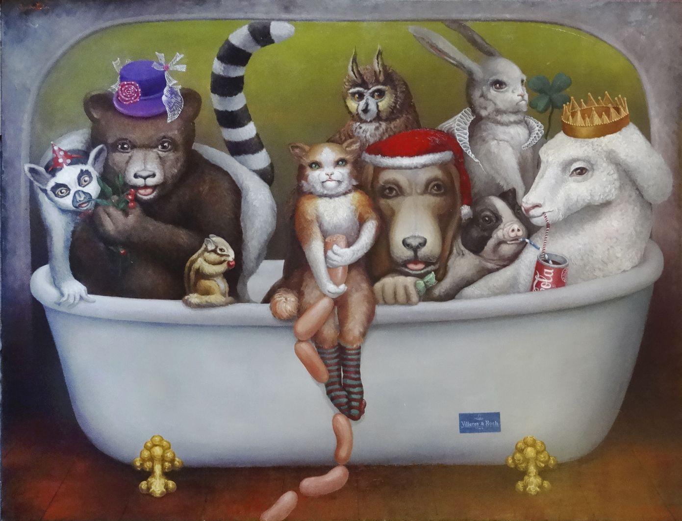 Ольга Погрібна-Кох. Вечірка по-америцьки, 2015
