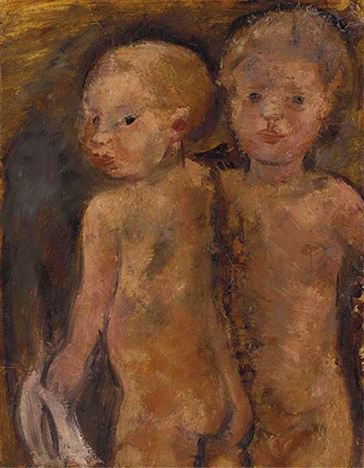 Йоахім Вайнгарт. Діти, що купаються, 1916