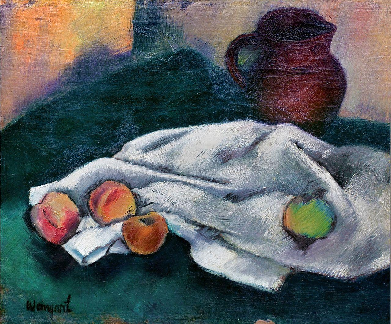 Йоахім Вайнгарт. Натюрморт, 1920
