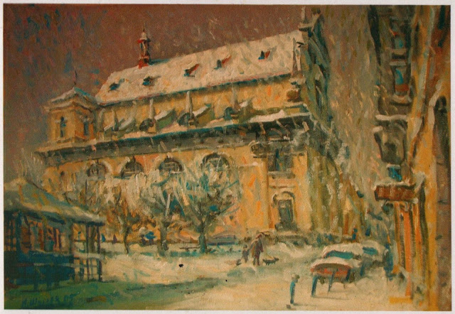 Ігор Шульєв. Зима, 2005; полотно, олія