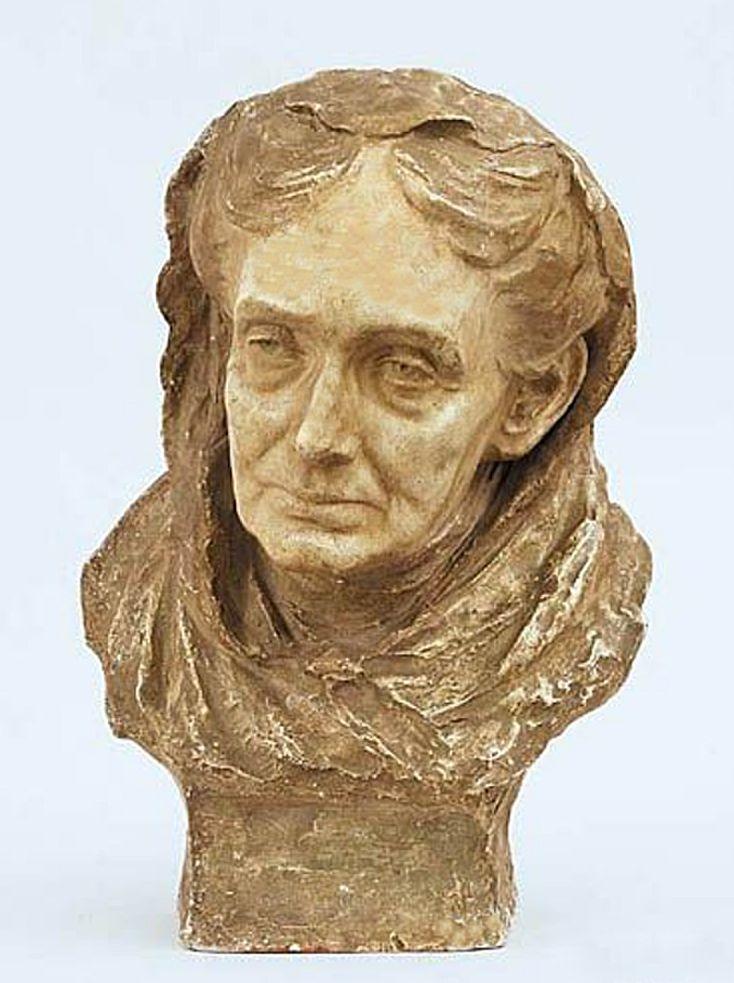 Люна Амалія Дрекслер. Француженка, 1906; гіпс, h-42