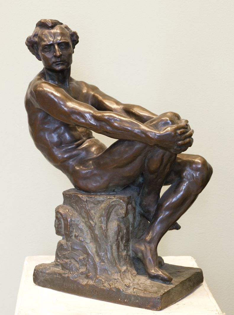 Люна Амалія Дрекслер. Homo sapiens, 1911; бронза, ЛНГМ