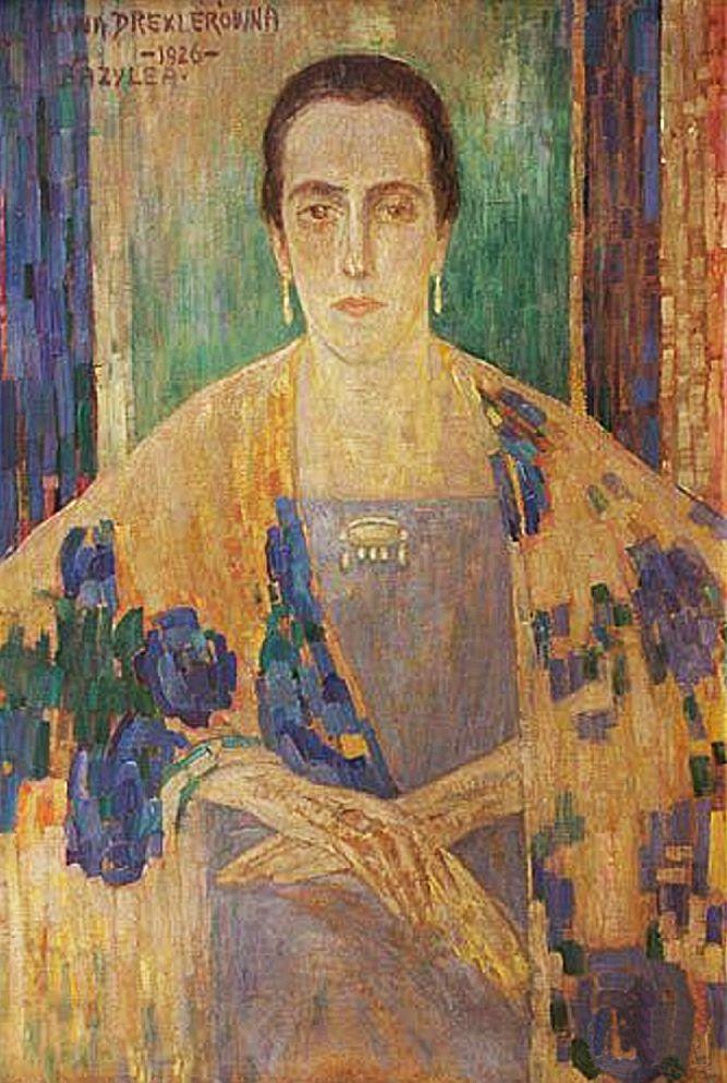 Люна Амалія Дрекслер. Іспанський портрет, 1926