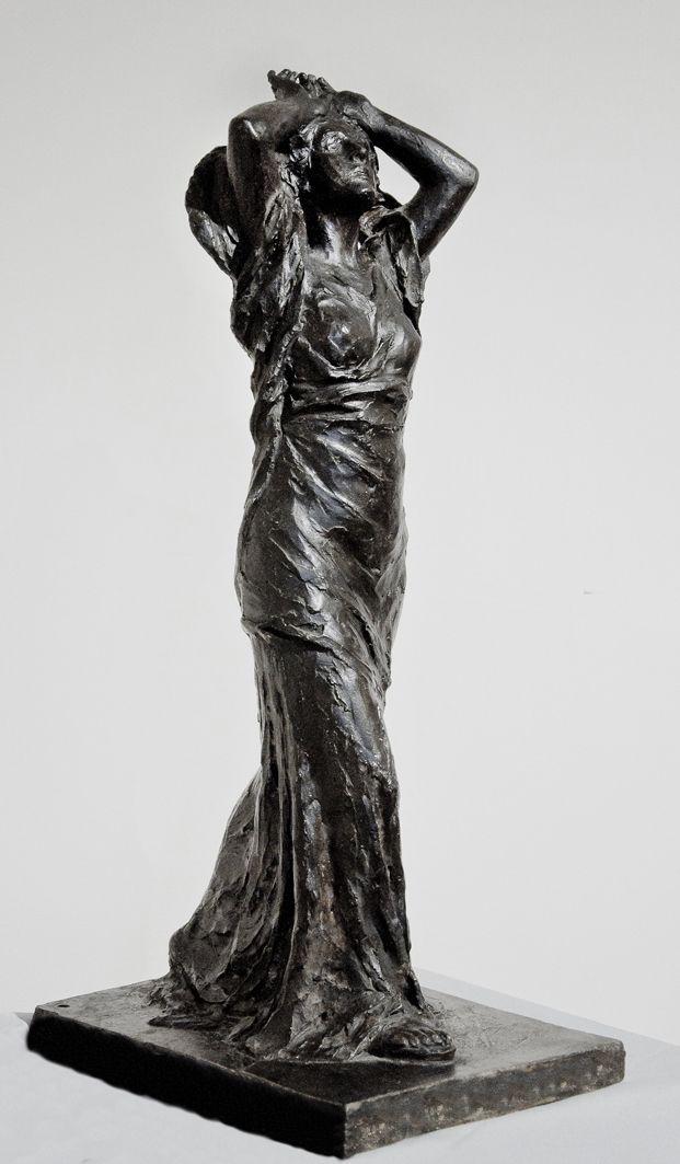 Люна Амалія Дрекслер. Психея (Самопізнання), 1911; гіпс, ЛНГМ