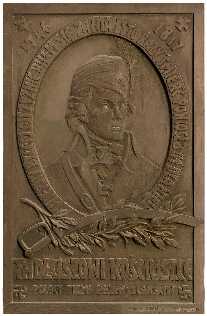 Люна Амалія Дрекслер. Таблиця Т. Костюшка, 1918
