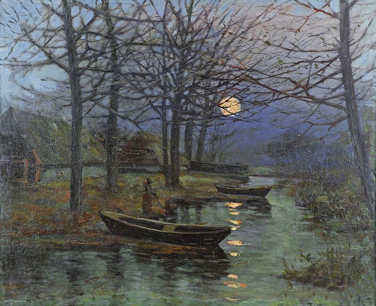 Мечислав Корвін Пьотровський. Ноктюрн, 1899