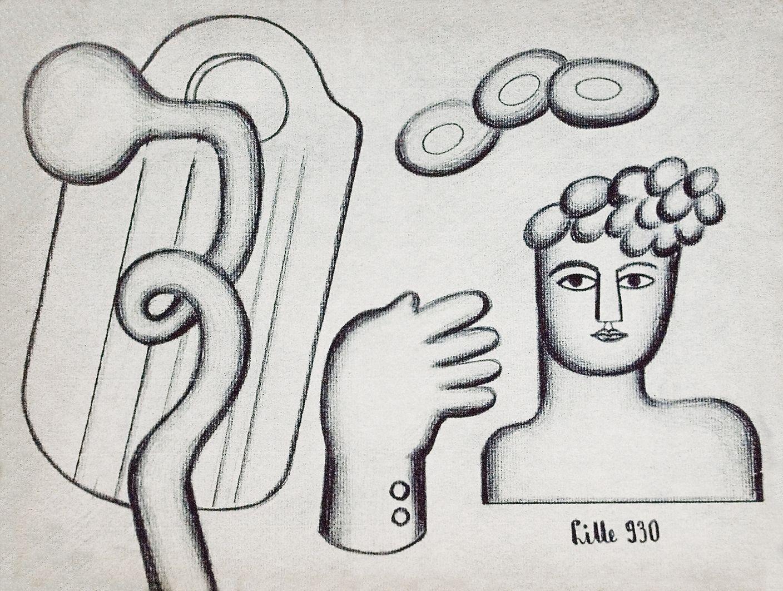 Людвиґ Ліллє. Композиція, 1930