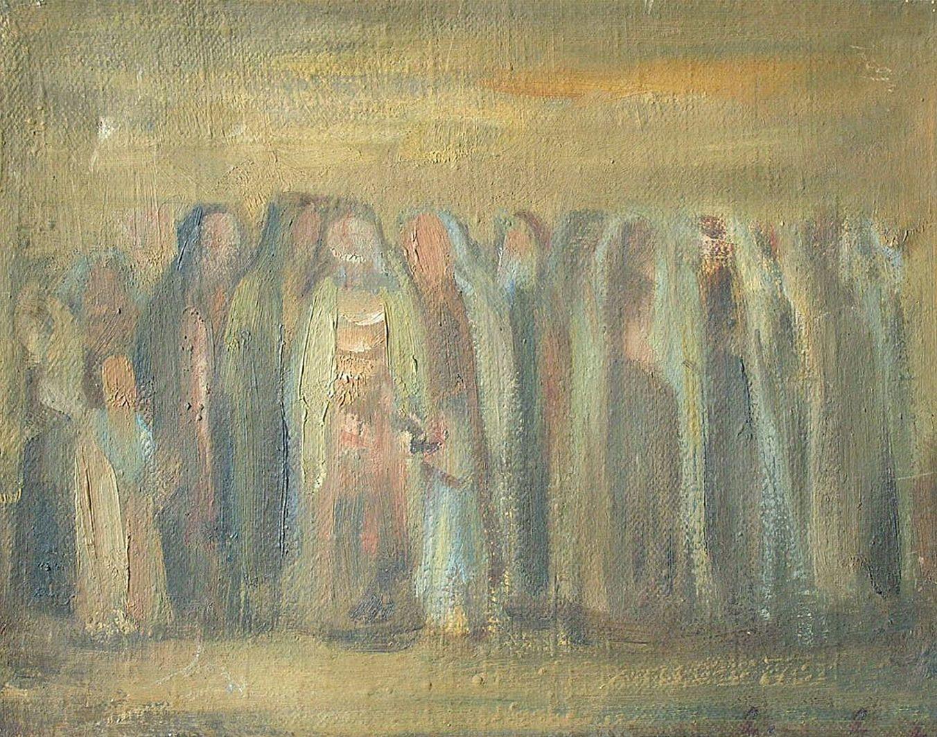 Людвиґ Ліллє. Молитва, 1955