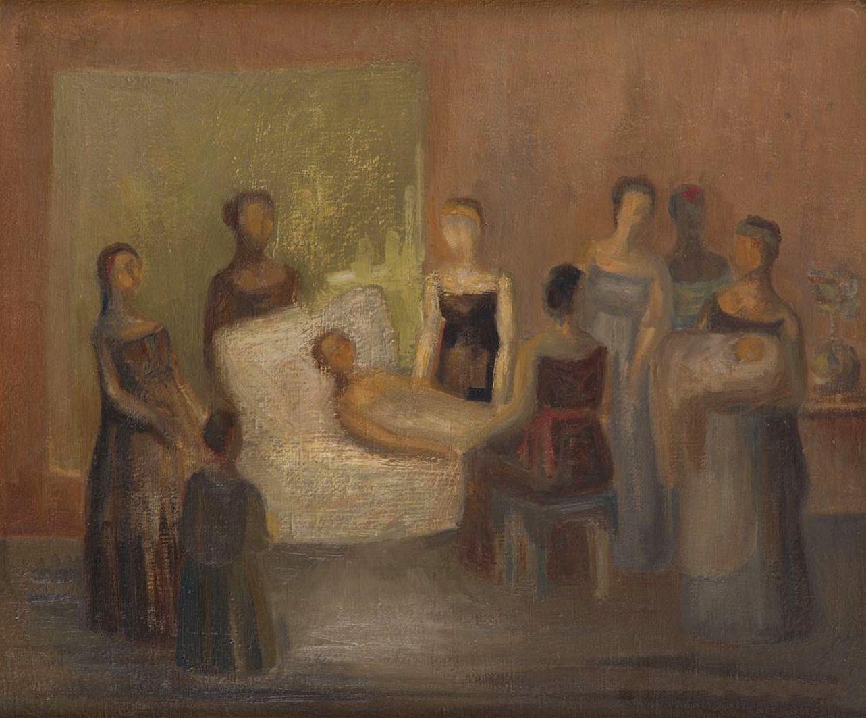 Людвиґ Ліллє. Пологи, 1941