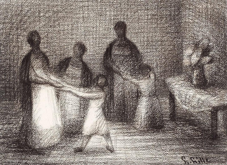 Людвиґ Ліллє. Танці, 1956